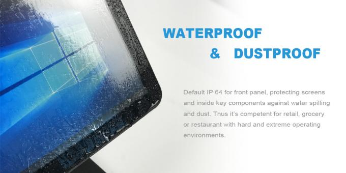 """Black 15.6"""" Capacitive Touch Screen POS PC 6"""